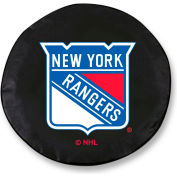 New York Rangers Black Tire Cover-TCLGNYRANGBK