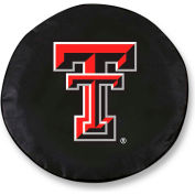 Texas Tech University Black Tire Cover-TCLGTXTECHBK