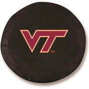Virginia Tech University Black Tire Cover-TCLGVATECHBK
