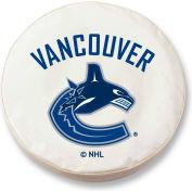 Vancouver Canucks White Tire Cover-TCLGVANCANWT