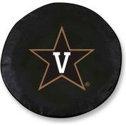 Vanderbilt University Black Tire Cover-TCLGVANDERBK