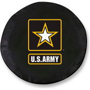 United States Army Black Tire Cover-TCSMARMYBK