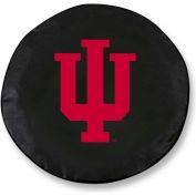 Indiana University Black Tire Cover-TCSMINDNAUBK