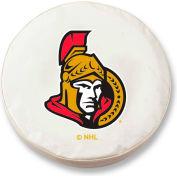 Ottawa Senators White Tire Cover-TCSMOTTSENWT