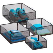 eXcessory Basket Set - 4-Piece - Black