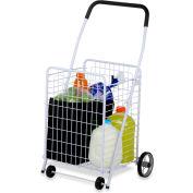 "Jumbo 4 Wheel All-Purpose Folding Utility Cart, 38-1/8"" L x 21-1/4"" W x 16-3/4"" H, 50 Lb Capacity"