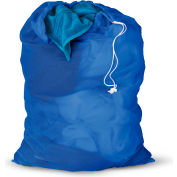 Mesh Laundry Bags, Blue, Nylon Mesh, 2 Pack