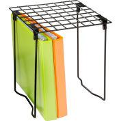 "Folding Locker Shelf SHF-03494, Black - 11""L x 9-1/4""W x 12-3/4""H"