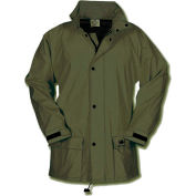 Helly Hansen Impertech Deluxe Jacket, Green/Brown, Large, 70148-770-L