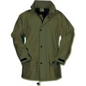 Helly Hansen Impertech Deluxe Jacket, Green/Brown, X-Large, 70148-770-XL
