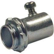 "Hubbell 2140 Emt Rigid/Imc Set Screw Connector 2-1/2"" Trade Size - Steel - Pkg Qty 5"