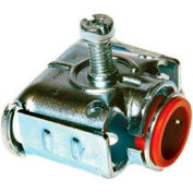 "Hubbell 2715 Duplex Connector 1/2"" - Pkg Qty 250"