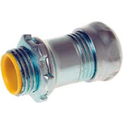 """Hubbell 2912 Emt Compression Connector 1/2"""" Trade Size Insulated - Steel - Pkg Qty 500"""