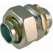 """Hubbell 3403 Straight Liquidtight Connector 3/4"""" Trade Size - Pkg Qty 100"""