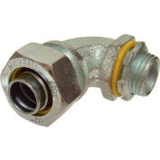 "Hubbell 3442 45 Degree Liquidtight Connector 1/2"" Trade Size - Pkg Qty 25"