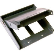 Hubbell 5045-0 Rayntite Two Gang Weatherproof Cover - (2) Gfci - Pkg Qty 6
