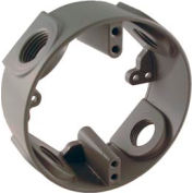 """Hubbell 5363-0 4"""" Round Weatherproof Extension Adapter 4-1/2"""" Outlets - Pkg Qty 16"""