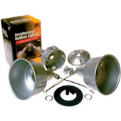 Hubbell 5876-5 Round Box Architectural Lite Kit Gray - Pkg Qty 4