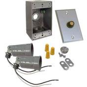 Hubbell 5883-5 Box Photocell Lite Kit Gray - Pkg Qty 4