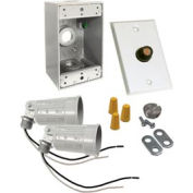 Hubbell 5883-6 Box Photocell Lite Kit White - Pkg Qty 4