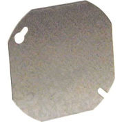 """Hubbell 722 Octagon Cover 4"""", Blank - Pkg Qty 50"""