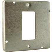 "Hubbell 808 4"" Square Exposed Work Cover, 1 Gfci - Pkg Qty 10"