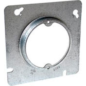"Hubbell 835 4-11/16"" Square Fixture Cover, Raised 5/8"", 2-3/4"" O.C. - Pkg Qty 25"