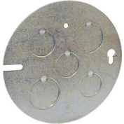 """Hubbell 890 Concrete Ring Cover, 1/2"""" & 3/4"""" Knockouts - Pkg Qty 25"""