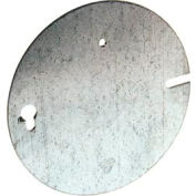 Hubbell 892 Concrete Ring Cover, Flat Blank - Pkg Qty 25