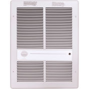 TPI Fan Forced Wall Heater HF3316T2RPW - 4000/3000/2000/1500W 240/208V White