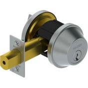 """3215 Grade 2 Deadlock - Cylinder X Thumbturn 2-3/4"""" 2-3/4"""" Us26d Scc Kd"""