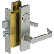3810 Grade 1 Mortise Lock - Passage Esc Us32d Wts