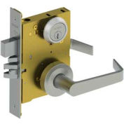 3810 Grade 1 Mortise Lock - Passage Sect Us32d Wls