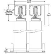 """Hager By-Pass Set For Two 48"""" (1219 Mm) Doors 9611009600000000"""