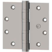 Hager Ecco Full Mortise, Five Knuckle, Ball Bearing Hinge ECBB1102 4.5 x 4.5 US26D NRP