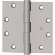 Hager 1741 Round Corner, Full Mortise, Five Knuckle, Plain Bearing Hinge RC1741 3.5X3.5 US4