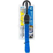 Highland® 9418300 Reflective Fat Strap Bungee Cord, Blue, Pack of 1