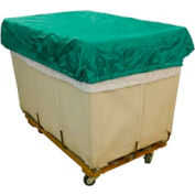 HG Maybeck Hamper Basket Cap, 200 Denier Nylon, 12 Bushel, Green