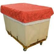 HG Maybeck Hamper Basket Cap, 200 Denier Nylon, 14 Bushel, Red