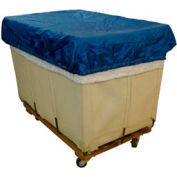 HG Maybeck Hamper Basket Cap, 200 Denier Nylon, 24 Bushel, Blue
