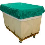 HG Maybeck Hamper Basket Cap, 200 Denier Nylon, 6 Bushel, Green