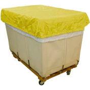 HG Maybeck Hamper Basket Cap, 200 Denier Nylon, 6 Bushel, Yellow