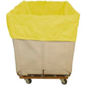 HG Maybeck Hamper Basket Liner, 400 Denier Nylon, 12 Bushel, Yellow