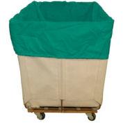 HG Maybeck Hamper Basket Liner, 400 Denier Nylon, 16 Bushel, Green