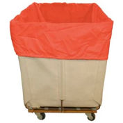 HG Maybeck Hamper Basket Liner, 400 Denier Nylon, 16 Bushel, Red