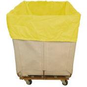 HG Maybeck Hamper Basket Liner, 200 Denier Nylon, 6 Bushel, Yellow