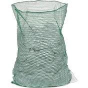Mesh Bag W/Out Closure, Green, 18x24, Medium Weight - Pkg Qty 12