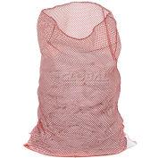 Mesh Bag W/Out Closure, Red, 18x24, Medium Weight - Pkg Qty 12