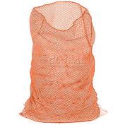 Mesh Bag W/Out Closure, Orange, 18x24, Medium Weight - Pkg Qty 12