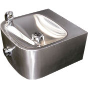 Haws Single Bubbler Wall Mounted SS Drinking Fountain